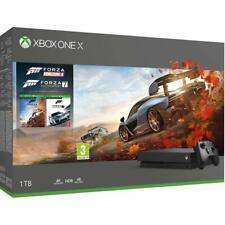 Microsoft Xbox One X 1TB Konsole, Inkl. 2 Spielen (Forza Horizon 4 & Forza Motorsport 7)