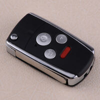 Remote 3+1 4 Button Folding Flip Key Shell Fob Case For Honda Accord Civic CRV