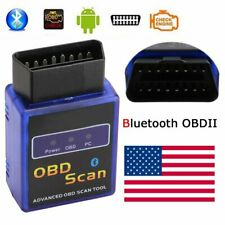 USA ELM327 Bluetooth Scan Tool OBD2 OBDII Scanner for TORQUE APP Android 2020