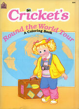 Cricket coloring book RARE UNUSED