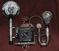Camera; 4X5 Graflex Speed Graphic; Phlogiston-Steampunk-Inspired Found Art
