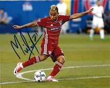 Fc Dallas Michael Barrios Autographed Signed 8x10 Mls Photo Coa