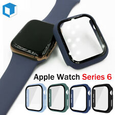 For Apple Watch Series 6 40/44mm Full Body Snap On Bumper Case Screen Protector