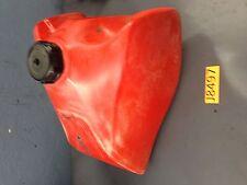 83 HONDA XR350 XR 350 R XR350R FUEL TANK cap  PETCOCK complete USED plastic