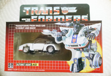 TRANSFORMERS AUTOBOT AGENT JAZZ G1 REISSUE ACTION FIGURE NEW IN BOX