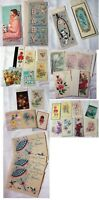VINTAGE NICE LOT OF 36 Assorted GREETING Cards Invitations Birthday Sick Baby
