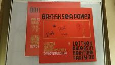 British Sea Power Let the Dancers Inherit the Party LP Album With Signed Print