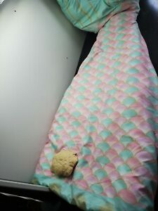 Sleeping Bag Blanket Mermaid Tail Nautical Authentic Kids Toddler Girls
