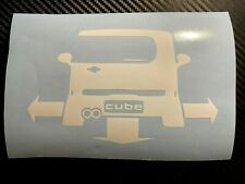 WHITE Nissan Cube Down And Out Car sticker decal Import JDM Z12