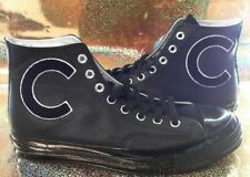 Converse 70s All Star Appliquéd Full-grain Glossy Leather High-top Men's size 9