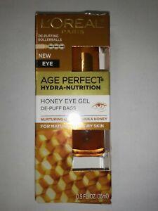 L'Oréal Age Perfect Hydra-Nutrition Honey Eye Gel De-Puff Bags