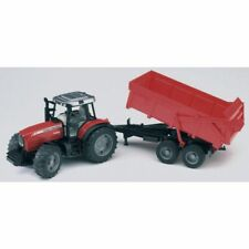 Bruder Massey Ferguson MF 7480 with tipping trailer 1:16 X993060047000 New