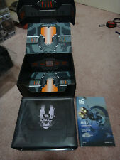 Rare Halo 5 UNSC Ammo Tin Lunch Box Loot Crate Exclusive and Book