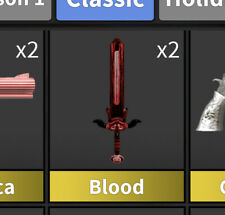 MM2 GODLY Blood Roblox   Murder Mystery 2   Vintage/Classic