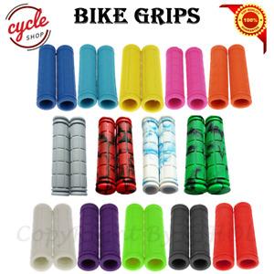 Mountain MTB BMX Bike Bicycle Cycle Hand Handle Bar Handlebar Grips Sleeve Cover