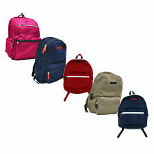 Tommy Hilfiger Backpack Bookbag School Bag Unisex Pack Zipper Pockets New Nwt Th