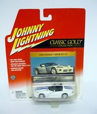 JOHNNY Rayo 1996 Dodge Viper RT/10 Clásico Dorado Die-Cast MOC 2002