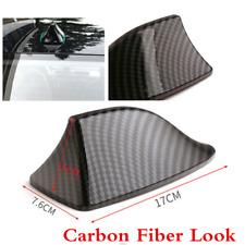 1pcs Shark Fin Decoration Antenna Carbon Fiber Look ABS Universal For Car Roof