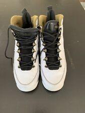 Boys Air Jordan 9 Retro Bg 302359-109 White/White Size 6Y
