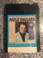 Merle Haggard And The Strangers Eleven Winners 8 track tape RARE