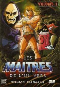 LES MAITRES DE L'UNIVERS VOLUME 1 /*/ DVD DESSIN ANIME NEUF/CELLO