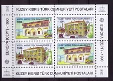 1990 Turkish Cyprus s/s Europa CEPT MNH Post Offices
