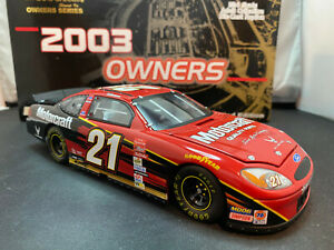 Team Caliber Ricky Rudd Motorcraft Wood Brothers Owner Series Ford Taurus NASCAR