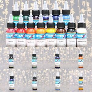 30ml Professional Tattoo Ink Monochrome Practice Tattoo Pigment Showy 14 Colors