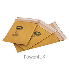 Gold Padded Jiffy Envelopes JL4 A4 Size 240 x 320mm Genuine Airkraft x 50