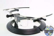 Oakley RX Eyeglasses OX3187-0353 CONDUCTOR 0.5 Polished Chrome Frame 53-18-137]