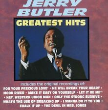 Greatest Hits - Jerry Butler (1991, CD NIEUW) CD-R