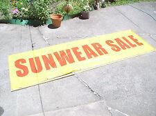 "10' X 3 Summer ""Sunwear Sale"" Banner Sign Eyewear Sportsware Sunglasses Swimwear"