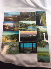 LOT OF ELEVEN 1950's & 1960's HAWAII COLOR POSTCARDS