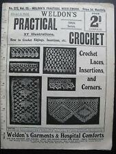 WELDON'S PRACTICAL CROCHET No. 272 c. early 1900's