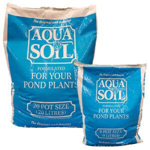 Aqua Soil Aquatic Compost Pond Plant Potting Soil 8L 20L Marginals Pot Fish Koi