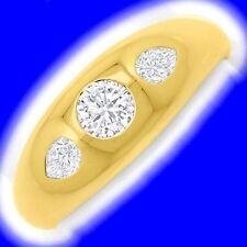 Echtschmuck aus Gelbgold mit IF Reinheit Markenlose Ringe
