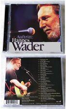 HANNES WADER  Auftritt: Hans Wader .. 1998 Pläne CD TOP
