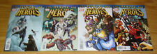 Age of Heroes #1-4 VF/NM complete series - adam blue marvel - squirrel girl 2 3