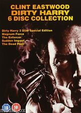 Dirty Harry Collection Box Set | Magnum Force | Clint Eastwood | New | DVD