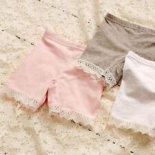 Girls Kids Child School Cotton Bike Short pants Safety Underwear Shorts leggings