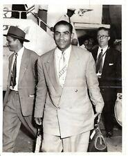 '54 Orig Photo Dominican Baseball Venezuelan Pitcher VALENTIN AREVALO Estrellas