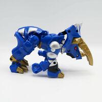 "Power Rangers Bandai Dino Thunder Blue Ranger Zord Transforming T-Rex 7.5"" 2003"