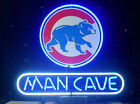 """New Chicago Cubs Man Cave Neon Sign Beer Bar Pub Gift Light 17""""x14"""""""