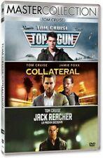 TOM CRUISE COLLECTION  3 DVD  TOP GUN - COLLATERAL - JA