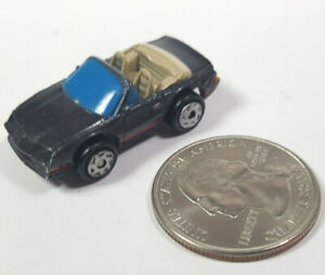 Chevrolet 1987 Camaro Convertible Gray 1 Galoob Micro Machines LGTI Rare Vintage