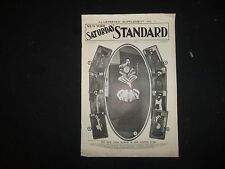1901 DEC 21 NY SATURDAY STANDARD MAGAZINE ILLUSTRATED SUPPLEMENT NO. 1 - ST 3191