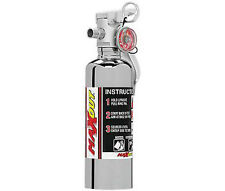 H3R Performance 1 lb. MaxOut Chrome Dry Chemical Fire Extinguisher MX100C