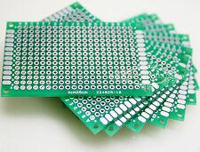 100pcs 4x6cm Double-side Protoboard Circuit  Fibre Glass DIY Prototype PCB Board