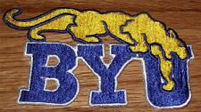 """Vintage Brigham Young University Byu Cougars Embroidered Patch 3"""" x 5.25"""" New"""