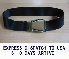 Airplane Airline Seat Belt Extension Extender Black Color with 75cm strap